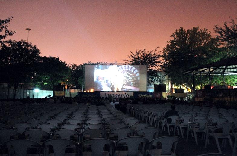 Fugindo do calor com cinema a céu aberto (foto: divulgação)