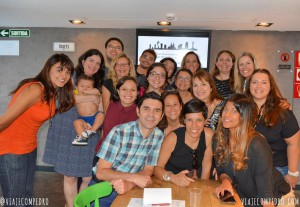 """Com blogueiros brasileiros """"perdidos"""" pela Europa. Foto: Pedro, do Viaje com Pedro"""