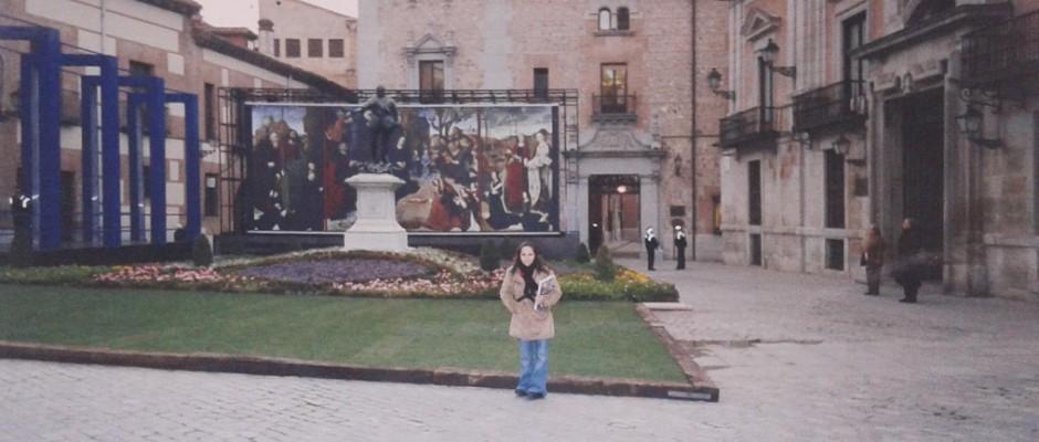 Em Madrid em 2004, quando vim estudar espanhol