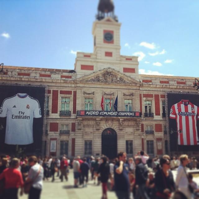 Puerta del Sol no final da Champions