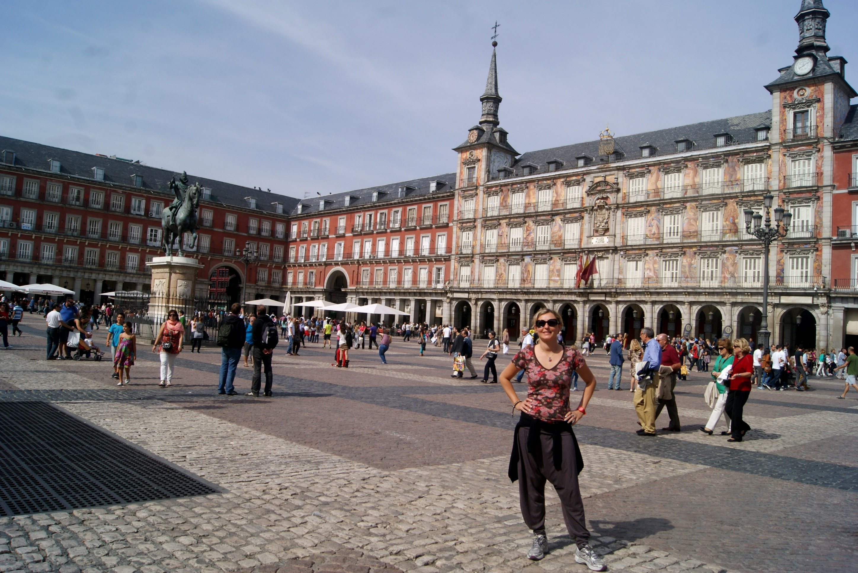 Cris na Plaza Mayor