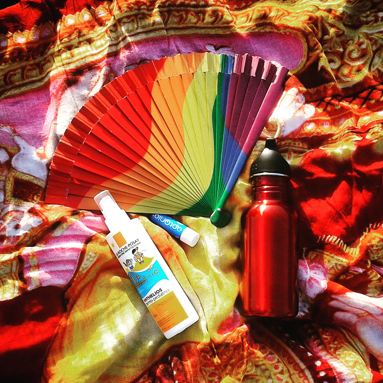 Kit de sobrevivência no verão madrileño