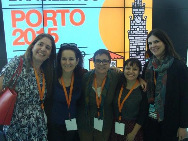 Desvirtualizando: Vivi, Suzana, Rita, eu e Juliana!