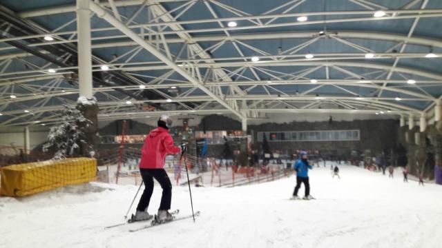 esquiar em madrid