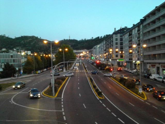 Região da universidade de Ourense