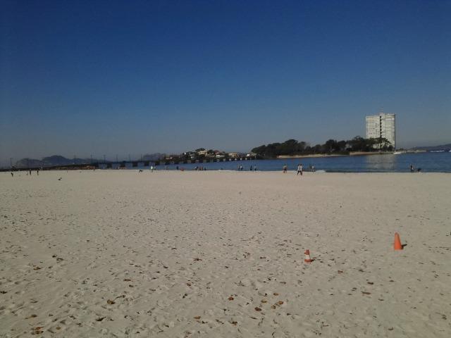 A Galícia tem praia, mas o clima não colabora muito...