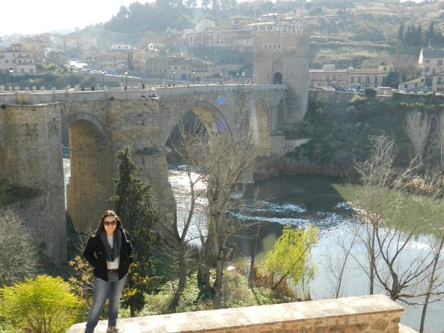 Na primeira viagem a Toledo, em 2011